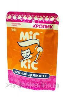 Желе МиС КиС с кроликом 100г, пауч