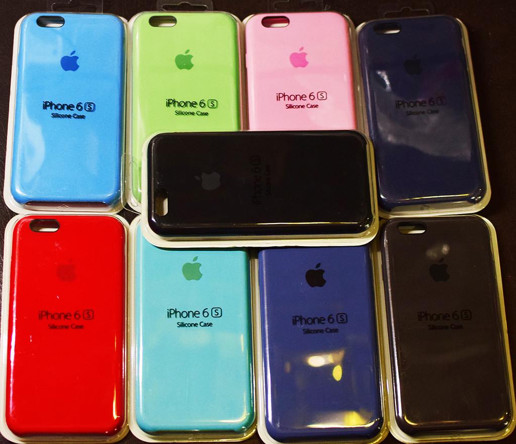 Оригинальный Apple silicone case для Iphone 6, 6s