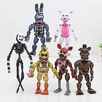 Кошмарные аниматроники Пять ночей с Фредди 4