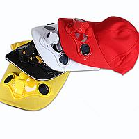 Летний спорт открытый шлем кепка с солнечной силу солнца прохладно вентилятор