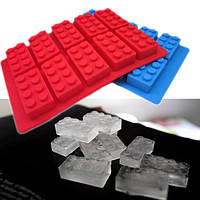 Brick Patternн Силиконовый кубик Льда желе лоток чайник Шоколад Плесень