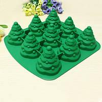 3D Рождественская елка Торт Mold Силиконовый Печенье Шоколад для выпечки Многофункциональные кухонные аксессуары