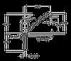 Смеситель TEKA MB2 L (MS1) песочный, фото 2