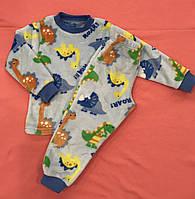 Пижама теплая ,вельсофт, для мальчиков и девочек