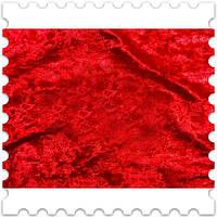 Муаровый Бархат Красный
