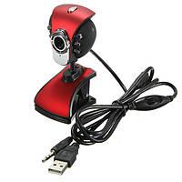 USB 50M 6 LED Веб-камера ночного видения камера Веб-камеры с ноутбуком Mic PC