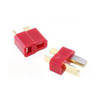 1 пара огнеупорные T Plug - разъем для RC ESC аккумулятор