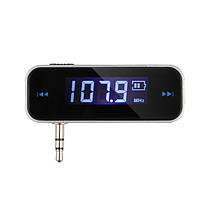 Беспроводной 3.5 машина музыка аудио FM-передатчик для ставку мобильного Iphone