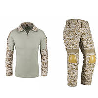 Бесплатный солдата us85 камуфляж защитная тактика тренировочный костюм набор