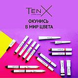 Матовая губная помада Tenx-114 Виноградный, фото 3