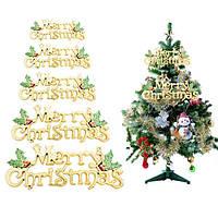 С Рождеством письмо карта для Рождественская елка висячие украшения