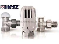 "HERZ Термостатичний комплект Classic (TS-90) угловой 1/2"" (1726006+1772491+1372441), фото 1"