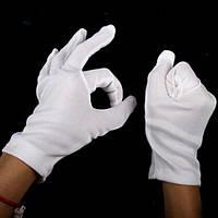 Хэллоуин поставляет 100% хлопка белого хип-хоп перчатки