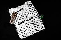 Мужской Свитшот Louis Vuitton x Supreme