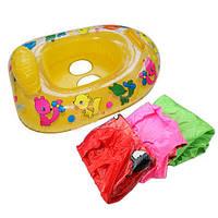Надувные ребенка безопасность ребенка поплавок сиденье плота стул вода весело бассейн с плавающей точкой