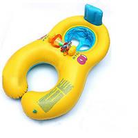 Надувная Комфортная мать младенца плавать Float С стулом Детьми плавательного кольцом