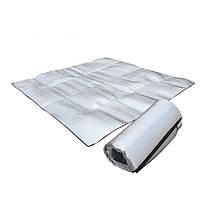 Кемпинг пикник гидроизоляционные мат водонепроницаемый коврик алюминиевая пленка 200 * 150