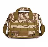 Военная тактическая сумка-чемодан камуфляжная