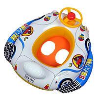 Детский надувной бассейн детское кресло плавать на лодке плавать колесо Рог