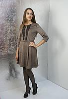 Замшева сукня Lavanda