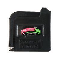 Универсальный тестер батарей проверка АА ААА С D и 9V кнопка