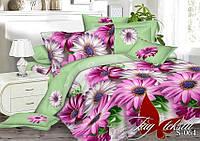 Комплект постельного белья сатин двуспальный TM Tag 064