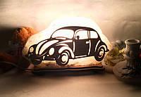 """Соляной светильник """"Машинка маленькая"""", фото 1"""