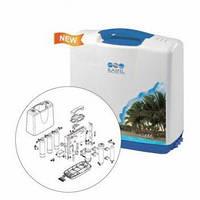 5-ти стадийная система очистки воды в пластиковом корпусе QM-80-BP