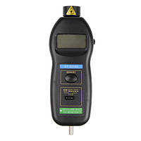 Dt2236c цифровой лазерный тахометр об / мин контакта инструмента измерения
