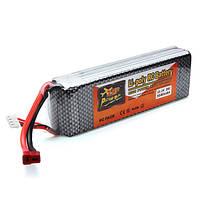 Власть zop 11.1v 5500mah 3s1p 35c lipo батарея для емкостно-резистивного штепселя модели t