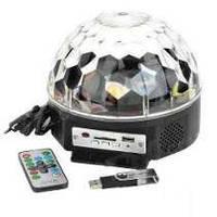 Диско шар для вечеринок с поддержкой USB Led Magic Ball Light
