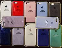 Оригинальный Apple silicone case для Iphone 8