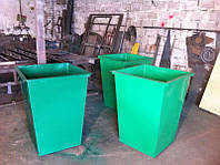 Мусорные баки, контейнеры ТБО, емкости для мусора, Донецк.