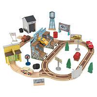 KidKraft Гоночный трек Тачки 3 деревянный 18015 Disney Pixar Cars 3 Thomasville Train Set