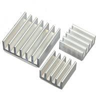30шт клей алюминиевый теплоотвод кулер охлаждения комплект для пи малины