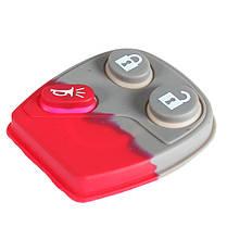 ГМ 3 кнопки замена колодки дистанционный ключ keyless entry брелке случае, фото 2