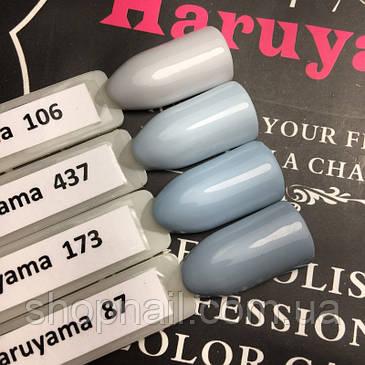 Гель-лак Haruyama №437 (пастельный серо-голубой), 8 мл, фото 2