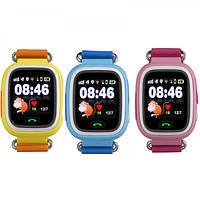 Часы наручные детские Smart Baby Watch Q80 с gps-трекером Распродажа