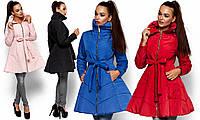 Женская осенняя куртка-клеш Сиена (44-48 в расцветках)