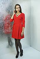 Красное платье Lavanda