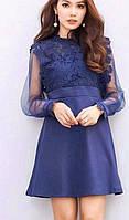 Утонченно-элегантное короткое платье