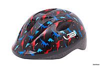 Шлем Green Cycle Dino, 50 - 54 см (M), черный