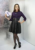 """Ефектна сукня """"лаванда"""" з вирізом на спині"""
