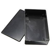 Черный пластиковый электронный ящик приборный корпус 100x60x25mm