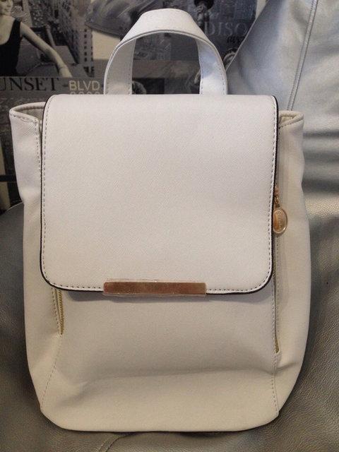 Женский китайский рюкзак, белый