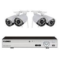 Система видеонаблюдения Lorex, с видеорегистратором DVR и 4 беспроводными камерами