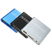 1080p мини HDD медиа плеер мкВ/сек.264/Формат RMVB полный HD с читателем карточки