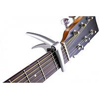 Флэнжер алюминия гитара капо для 6-струнной акустической электрической гитары