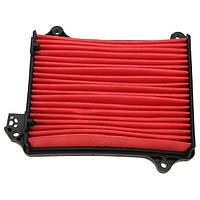 Красная машина удаления пыли чехол горизонтальный воздушный фильтр воздуха автомобиля ржали