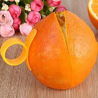 2 шт Оранжевый открывалка Овощечистка Cutter Пластиковые Лимонный кожице Remover Тесак Парер кухонный инвентарь